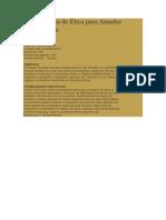 Ficha técnica de Ética para Amador