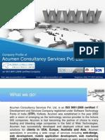 AcumenCS Portfolio