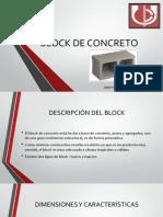 BLOCK . Elementos Complementarios