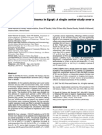 Hepatocellular Carcinoma in Egypt a Single Center Study Over a Decade