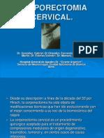 CORPORECTOMIA CERVICAL presentacion.ppt