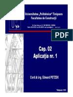 C2-2 Mecanica Ruperii - Aplicatie Poduri CF