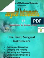 Slides Surgical Instruments
