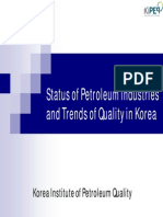 01 Status of Petroleum Industries
