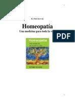 Libro Homeopatía Una medicina para toda la vida - Dr. Pabl…