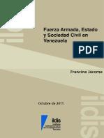 Fuerza Armada, Estado y Sociedad Civil en Venezuela