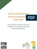 Guía de la Acreditación Europea de Manejo de Ordenador UEx