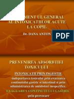 Curs Intoxicatii Dana Anton