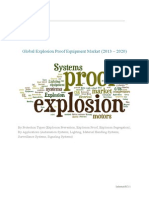 Global Explosion Proof Equipment Market (2013 – 2020) – By Protection Types (Explosion Prevention, Explosion Proof, Explosion Segregation); By Applications (Automation Systems, Lighting, Material Handling Systems, Surveillance Systems, Signaling Systems)