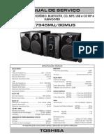 Hi-fi Toshiba Ms7945mu