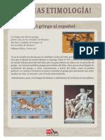 Etimologia Griego