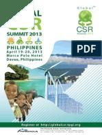 Global CSR 2013 Brochure