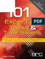 101 Excel Tips Tricks Time Savers
