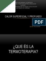 Calor Superficial y Profundo Lic.valcarcel
