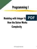 08 Integer Programming 1 Print