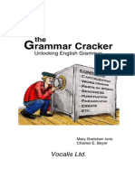 Grammar Cracker - Unlocking English Grammar