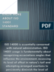 Know More About Iso 14001 Standard
