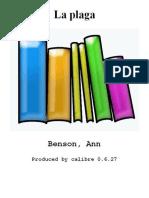 La Plaga - Benson_ Ann