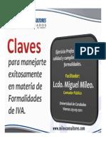 Formalidades Tributarias - Universidad de Carabobo