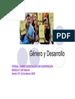 Genero y Desarrrollo1