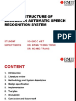 Parallel Structure of Decoder in Automatic Speech Recognition