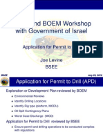 BSSE Presentation to Israel