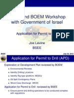 BSSE Presentation to Israel