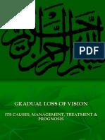 7.1 Gradual Loss of Vision