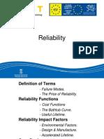 Basics of Reliablity