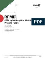 CATV Hybrid Amplifier Modules Past Present FutureWP