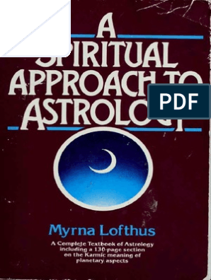 A spiritual approach to astrology pdf | Planets In Astrology