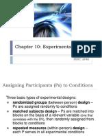 Ch.+10+ +Experimental+Design