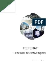 Referat energii neconventionale