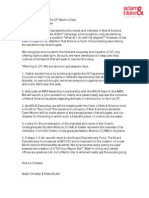 A Response to the QP Nacho Crisis