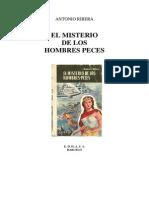 El Misterio de Los Hombres Peces de Antonio Ribera