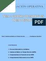 CMTD - Cadenas de Markov en Tiempo Discreto