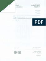 NBR 13541-1 - 2012