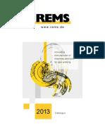 REMS Katalog 2013 GBRoP - Stand 2013-03-07