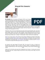 Biografi Rio Dewanto