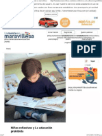 Niños reflexivos y La educación prohibida - La mente es maravillosa