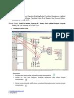 Latihan Structural Equation Modeling Data Primer