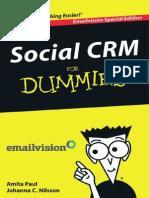 Social CRM for Dummies[1]