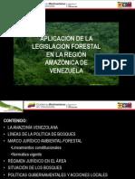LEGISLACIÓN FORESTAL EN LA REGIÓN AMAZÓNICA de Vzla