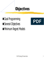 07 Conflicting Objectives