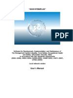 ISOsystemPlus User Manual