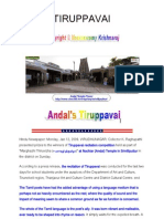 Andals Tiruppavai