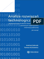 Analiza rozwiązań technologicznych pomocnych przy budowie Otwartego Rządu  i ponownym wykorzystaniu informacji publicznej - jak zacząć. Wydanie I