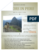 The Inca Trail Poster
