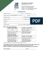 2's Registration Form 14-15