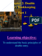 Chapter 2 Double Entry Bookkeeping (a) Part 1